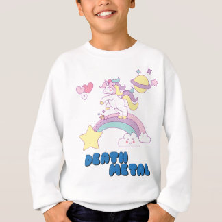 Death Metal unicorn Sweatshirt