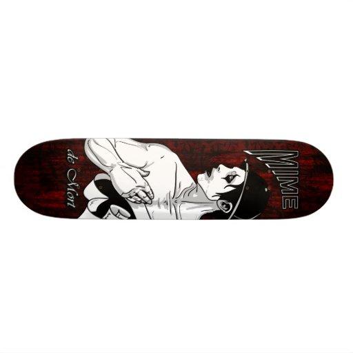 Death Mime Skate Board