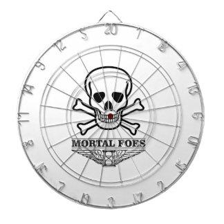 death mortal foes dart boards
