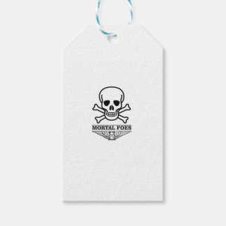 death mortal foes pack of gift tags