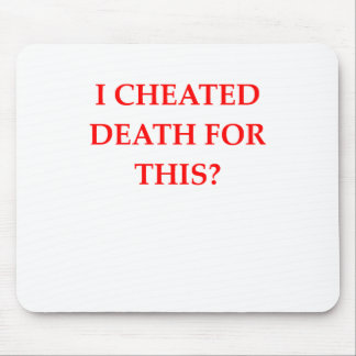 DEATH MOUSE PAD