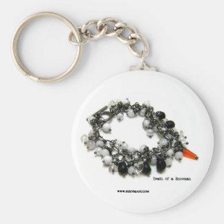 Death of a Snowman key chain