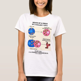 Death Of A Virus By A Killer T Cell (Immunology) T-Shirt