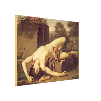Death of Abel Canvas Print