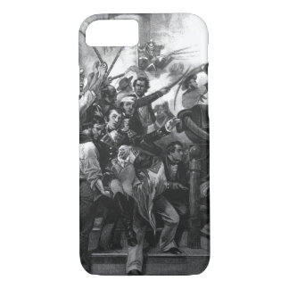 "Death of Captain Lawrence. ""Don't Give Up the Ship iPhone 7 Case"