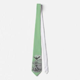 Death of Cu Chulainn, Tie, Necktie