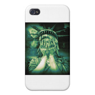 Death of Liberty iPhone 4 Cover