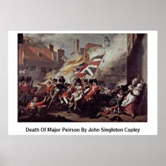 Death Of Major Peirson By John Singleton Copley Poster