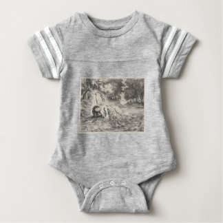 Death of Ophelia Baby Bodysuit