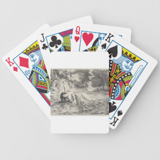 Death of Ophelia Bicycle Playing Cards