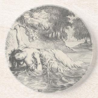 Death of Ophelia Coaster
