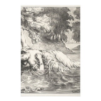 Death of Ophelia Stationery