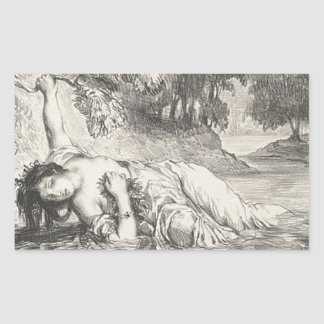 Death of Ophelia Sticker