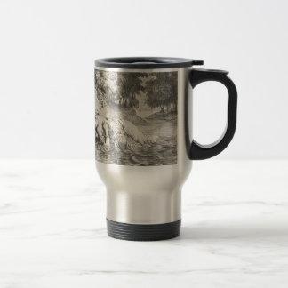 Death of Ophelia Travel Mug