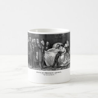 Death Of President Lincoln Coffee Mug