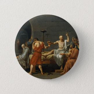 Death of Socrates 2 Inch Round Button