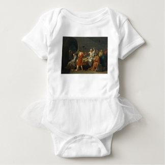 Death of Socrates Baby Bodysuit