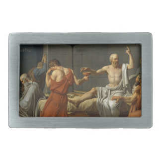 Death of Socrates Belt Buckles