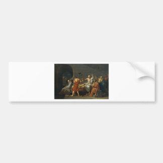 Death of Socrates Bumper Sticker
