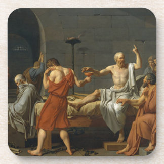 Death of Socrates Coaster