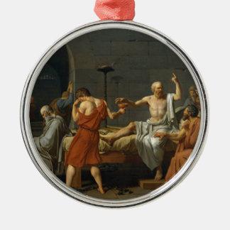 Death of Socrates Metal Ornament