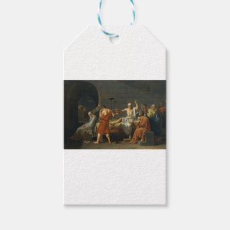 Death of Socrates Pack Of Gift Tags
