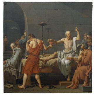 Death of Socrates Printed Napkins
