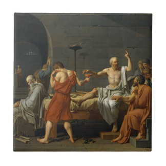 Death of Socrates Tile