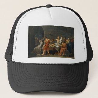 Death of Socrates Trucker Hat
