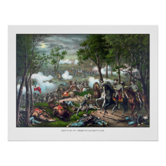 Death Of Stonewall Jackson Poster