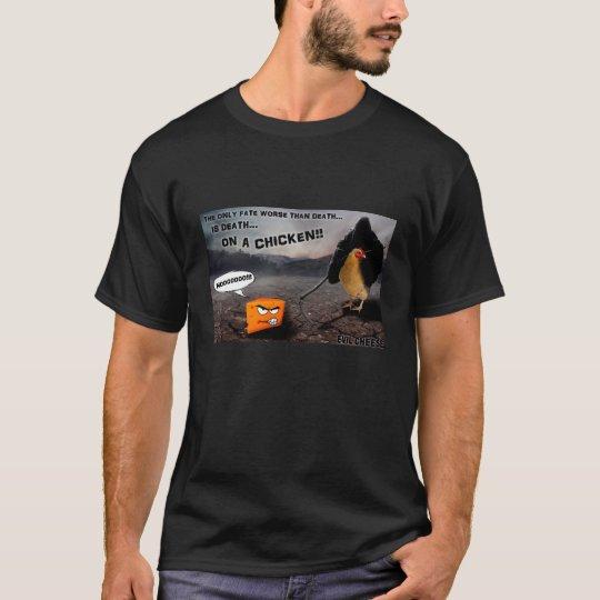 Death... on a Chicken scene T-Shirt