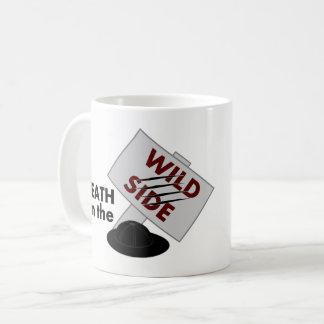 Death on the Wild Side logo mug