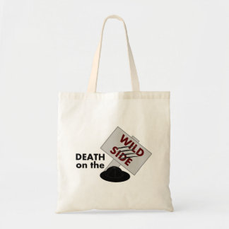 Death on the Wild Side tote bag