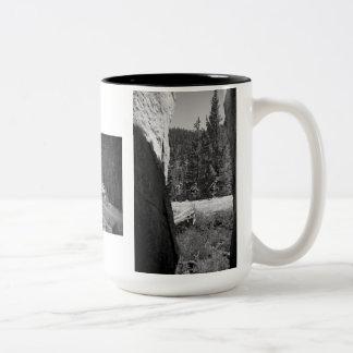 """Death Ride"" Through the Alps Two-Tone Coffee Mug"