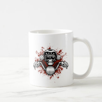 Death Rider - Dice Basic White Mug