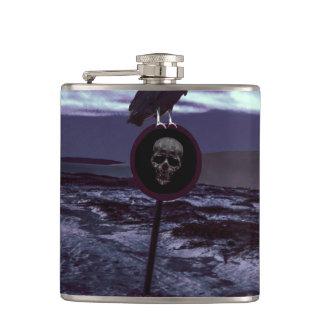 Death Road Dark Scene Flasks