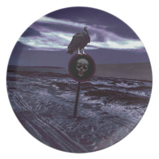 Death Road Dark Scene Plate