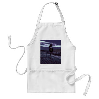 Death Road Dark Scene Standard Apron