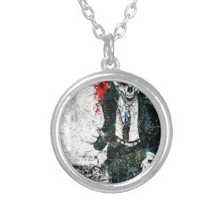 Death skeleton suite pendants
