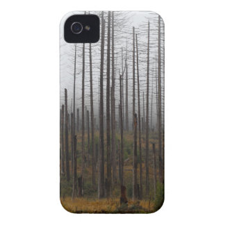 Death spruce trees iPhone 4 Case-Mate cases