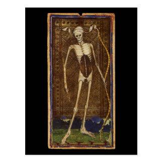 Death Tarot Card Postcard