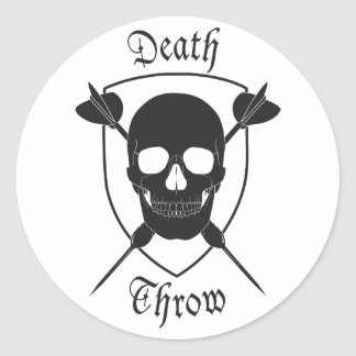 Death Throw Sticker