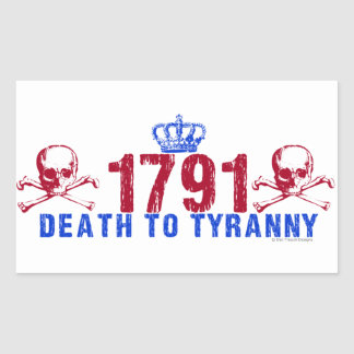 Death to Tyranny Sticker