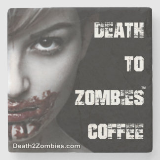 Death to Zombies Coffee Coasters