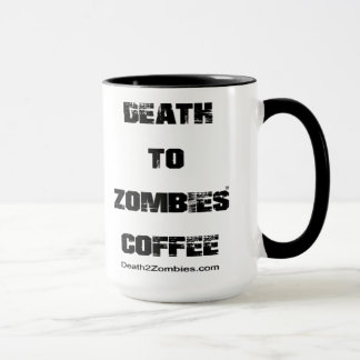 Death to Zombies Coffee Mug
