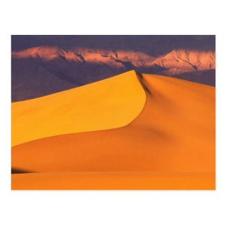Death Valley at Dawn. California Postcard
