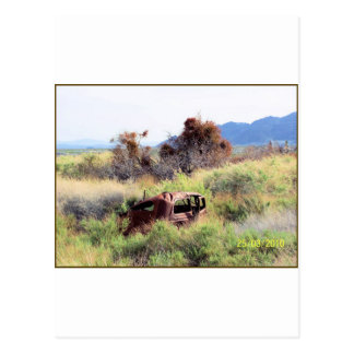 Death Valley car Postcard