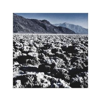 Death Valley Devils Golf Course Canvas Print