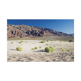 Death Valley, Dunes Canvas Print