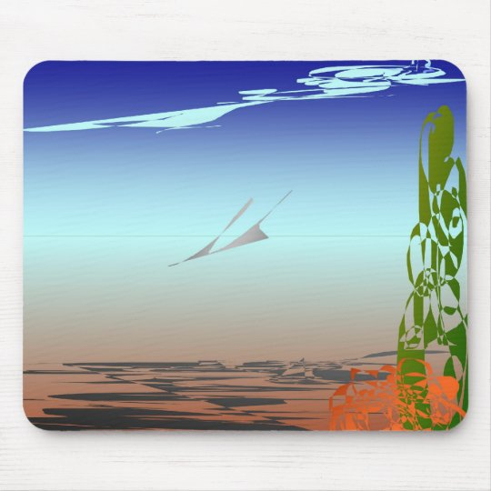 Death Valley Fly Over Mousepad